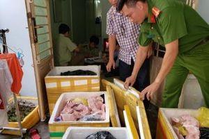 Cần Thơ: Tạm giữ gần 500 kg nầm heo, sụn gà không rõ nguồn gốc