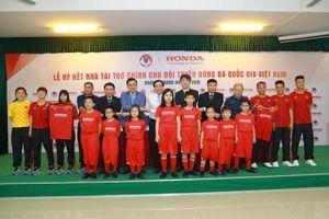 Honda Việt Nam là nhà tài trợ chính của các Đội tuyển quốc gia Việt Nam