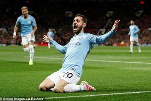 Man Utd 0-2 Man City: Đẳng cấp chênh lệch