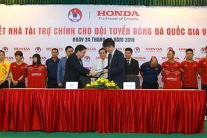 Honda Việt Nam trở thành nhà tài trợ chính cho các Đội tuyển Bóng đá Quốc gia Việt Nam