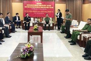 Sở Cảnh sát thành phố Daegu (Hàn Quốc) thăm và làm việc với CATP Đà Nẵng