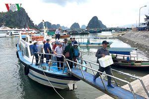 Giá vé tàu tuyến Vân Đồn - Cô Tô (Quảng Ninh) bất ngờ tăng mạnh