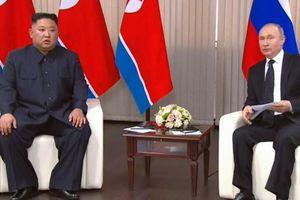Ông Kim cảm ơn ông Putin vượt 'hàng nghìn km' dự Thượng đỉnh Nga-Triều