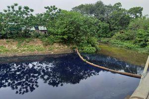Các cơ sở dệt, nhuộm gây ô nhiễm