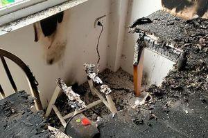 Loa Marshall Kilburn phát nổ ở Việt Nam, cháy cả góc phòng