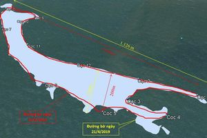 Viết tiếp việc cồn cát xuất hiện ở biển Cửa Đại (Quảng Nam): Bất ngờ với kết quả quan trắc