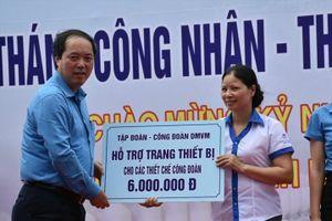 Công đoàn Dệt May Việt Nam phát động Tháng Công nhân