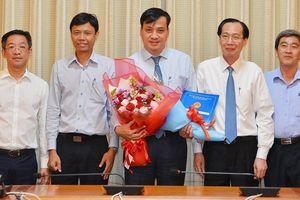 Chủ tịch UBND quận 7 Lê Hòa Bình làm Giám đốc Sở Xây dựng TPHCM