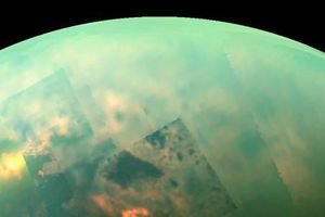 Kinh ngạc Mặt trăng Titan sao Thổ có hồ metan sâu 100m