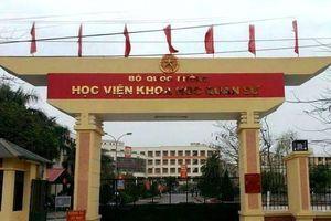 Vụ gian lận điểm thi THPT quốc gia: Được 'nâng' điểm, 1 thí sinh vẫn được Bộ Quốc phòng cho phép học