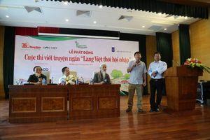 Nhiều nhà văn trăn trở về đề tài nông thôn 'Làng Việt thời hội nhập'