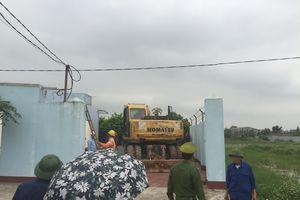 Sóc Sơn: Cưỡng chế các công trình sai phạm về trật tự xây dựng tại xã Phù Lỗ