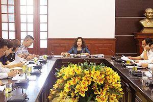 Phiên họp Ban Cố vấn nghiệp vụ bộ phim về người Thẩm phán TAND