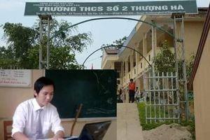 Hiệu trưởng bàng hoàng khi thầy Việt Anh làm học sinh lớp 8 có thai