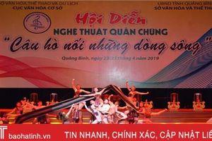 Hà Tĩnh giành Huy chương Bạc hội diễn 'Câu hò nối những dòng sông'