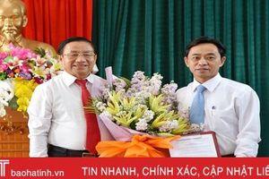 Bổ nhiệm ông Trần Thế Dũng làm Trưởng ban Tổ chức Tỉnh ủy Hà Tĩnh