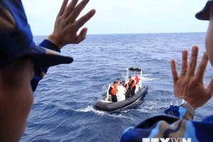 Kết thúc tốt đẹp chuyến kiểm tra liên hợp nghề cá Việt Nam-Trung Quốc