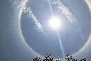 Xuất hiện vòng tròn kỳ lạ trên bầu trời Quảng Nam