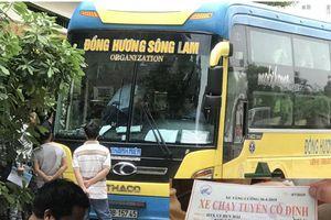 Sau mức phạt 15,5 triệu, hãng xe Đồng Hương Sông Lam tiếp tục 'nhờn luật'