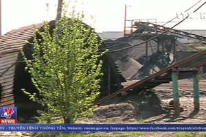 Nổ mỏ than ở miền Đông Ukraine