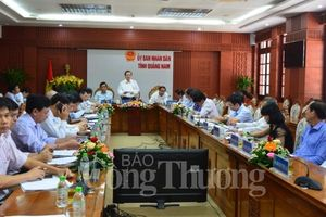 Quảng Nam phải trở thành một tỉnh công nghiệp và kinh tế biển mạnh