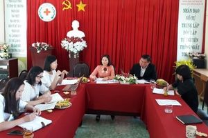 Hội Chữ thập đỏ Việt Nam khảo sát mô hình dịch vụ sơ cấp cứu tại Lâm Đồng