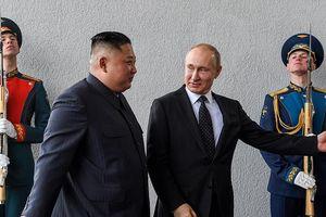 Những hình ảnh đáng chú ý tại Hội nghị Thượng đỉnh Nga – Triều