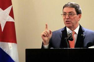Cuba chỉ trích Mỹ muốn 'bóp nghẹt' kinh tế và trừng phạt nhân dân Cuba