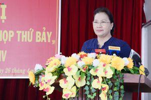 Chủ tịch Quốc hội tiếp xúc cử tri tại huyện Phong Điền, TP Cần Thơ
