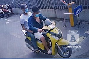 Nhanh chóng bắt giữ nhóm trộm 'cởi áo cho nhau', sau khi lấy trót lọt chiếc SH 150i
