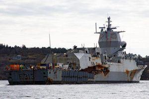 Na Uy có thể mất trắng chiến hạm 500 triệu USD sau tai nạn