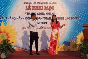 Công nhân Công ty TNHH Sambu Vina Sports vui 'Tháng Công nhân'