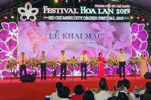 Khai mạc Festival Hoa lan lần đầu tiên tại TP Hồ Chí Minh