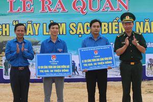 Quảng Trị ra quân chiến dịch 'Hãy làm sạch biển' năm 2019