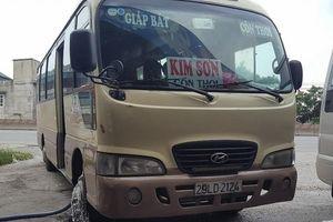 Xe khách thu vé 100.000 đồng đi TP Ninh Bình và 'khoe' quay đầu 4 chuyến Hà Nội