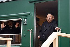 Thượng đỉnh Nga - Triều: Tàu bọc thép đã đưa Chủ tịch Kim Jong-un về nước