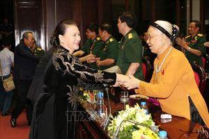 Chủ tịch Quốc hội Nguyễn Thị Kim Ngân dự chương trình giao lưu 'Tri ân đồng đội'