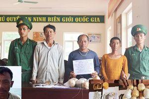Bắt tàu cá sử dụng mìn đánh bắt hải sản trên biển Quảng Bình