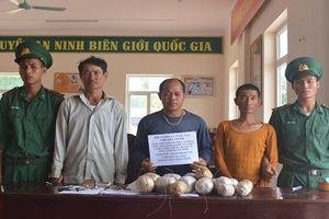 Quảng Bình: Bắt quả tang 4 đối tượng dùng mìn đánh cá trên biển