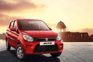 Suzuki Alto 2019 có giá bán chỉ từ 97 triệu đồng, rẻ chỉ bằng xe máy