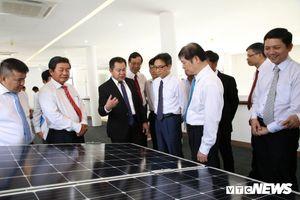 Ninh Thuận khánh thành cụm nhà máy điện mặt trời lớn nhất Đông Nam Á