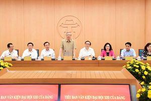 Tiểu ban Văn kiện Đại hội XIII của Đảng khảo sát thực tế tại Hà Nội