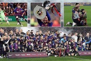 Barcelona lần thứ 26 vô địch La Liga: Ngả mũ trước Messi