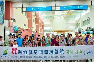 Bamboo Airways thực hiện chuyến bay đầu tiên đến Đài Loan