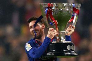 Messi cùng đồng đội hưởng đặc quyền sau chức vô địch sớm 3 vòng đấu
