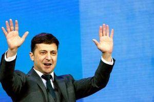 Tổng thống đắc cử xuất thân diễn viên hài của Ukraine tuyên bố sốc với Nga