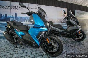 BMW Motorrad mang bộ đôi xe tay ga 350cc đến Đông Nam Á