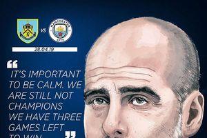 Burnley đấu Manchester City: Bước ngoặt tới ngôi vương