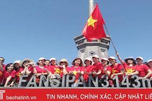 Dịp lễ 30/4 - 1/5, nhiều du khách Hà Tĩnh chuyển hướng du lịch nội địa