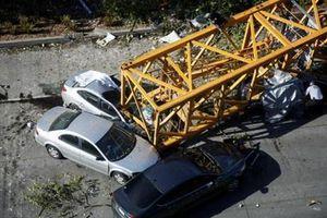 Sập cần cẩu ở Mỹ làm 4 người thiệt mạng và 4 người bị thương